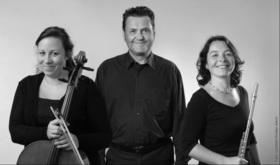 Bild: Konzert für Flöte, Cello und Klavier - Ensemble Bento
