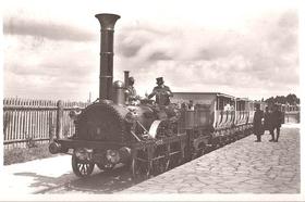 Bild: Ankunftsstadt des Adlers - entlang der alten Trasse