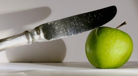 Bild: Von Fasten, Fastfood, Nahrung und Lebens-Mitteln