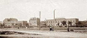 Bild: Erfolgreiche Unternehmen um 1900 in der Südstadt