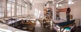 Bild: Experimentelles Drucken mit Trendfarben - Kunst-Workshop