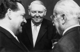 Bild: Wirtschaftswunderer³ - Erhard, Grundig und Schickedanz