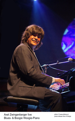 Bild: TONarten Musikfestival Sasbachwalden - Axel Zwingenberger: BLUES & BOOGIE WOOGIE PIANO SOLO