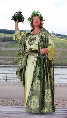 Bild: Kostümführung mit der Germania