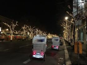 Bild: Velotaxi-Weihnachtsmarkt-Tour mit Glühweinstopp und Eintritt