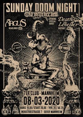 Bild: Sunday Doom Night - Death The Leveller + Old Mother Hell + Naevus