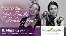 Bild: Zur Sache, Schätzchen! - Bremerich Broneske zum Frauentag