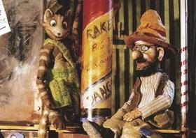 Bild: Petterssons Feuerwerk für den Fuchs - marotte-Figurentheater