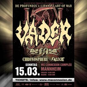 Bild: Vader - Anniversary Tour 2020
