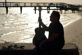 """Bild: Konzert-Lesung """"Mississippi von Richie Arndt"""""""