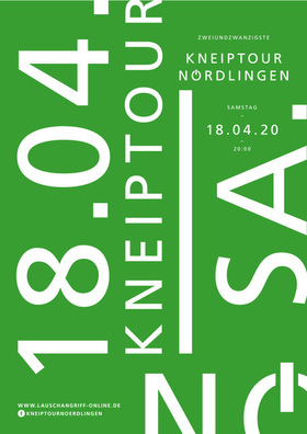 Bild: KNEIPTOUR NÖRDLINGEN - 24. Kneiptour Nördlingen