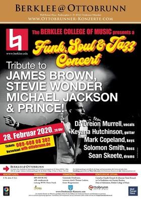 Bild: Tribute to James Brown, Stevie Wonder, Michael Jackson & Prince