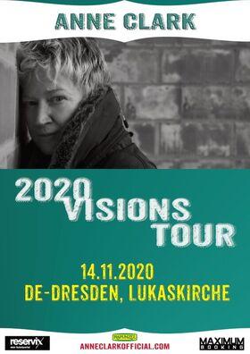 ANNE CLARK – 2020 Visions Tour - AUSVERKAUFT