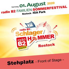 Bild: Kat. 2 - radio B2 SchlagerHammer - Front of Stage
