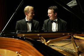 """Bild: Abschlusskonzert: Bernd Lhotzky / Chris Hopkins """"Jazz & Classics"""