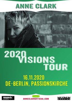 ANNE CLARK - 2020 Visions Tour - AUSVERKAUFT