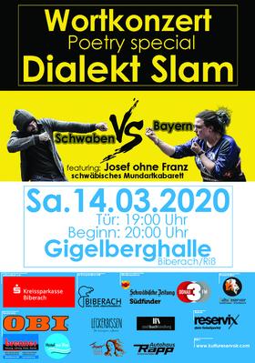 Bild: Wortkonzert No22 Spezial - Dialekt Slam - Der Poetry Slam in Biberach