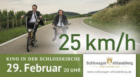 Bild: Kino in der Schlosskirche - 25 km/h