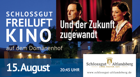 Bild: Kino in der Schlosskirche - Und der Zukunft zugewandt