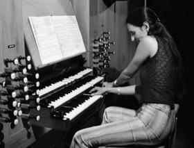 Bild: Barbara Dennerlein - Jazz trifft Kirchenorgel - Ein Weltstar an der Steinmeyer-Orgel