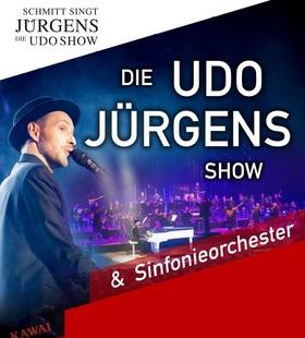Bild: Schmitt singt Jürgens - Die Udo-Show 2021 - mit dem Leipziger Symphonie-Orchester