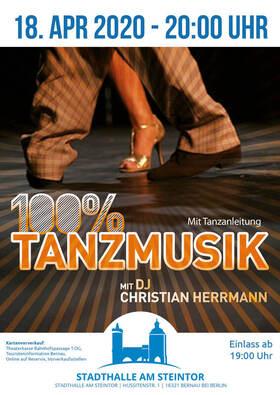 Bild: 100% Tanzmusik - mit Christian Herrmann