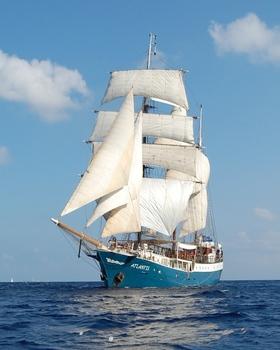 """Halbtagestörn mit """"Atlantis"""" zum Sail In, SAIL BHV 2020"""