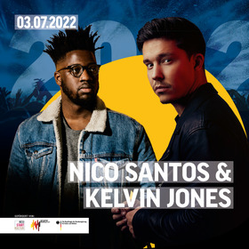 Bild: Nico Santos & Kelvin Jones - Butzbach Open-Air