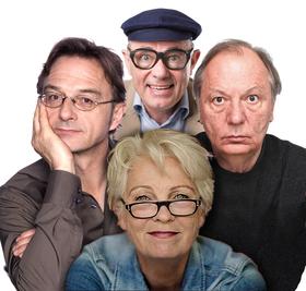 Bild: Frau Jahnke hat eingeladen... Mann, Mann, Mann, Frau Jahnke - mit Fritz Eckenga, Herbert Knebel und Wilfried Schmickler