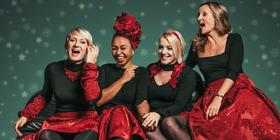 """Bild: """"Medlz"""" A capella – """"Weihnachtsleuchten"""""""