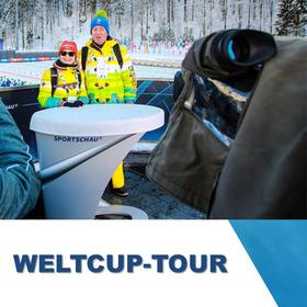 Bild: Chiemgau Arena - WELTCUP-TOUR