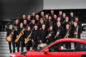 Bild: Porsche Big Band + Wüstenrot & Württembergische Campus Big Band - Big Band Battle zu Gunsten der LKZ-Aktion