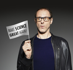 Bild: Vince Ebert - Make Science Great Again!
