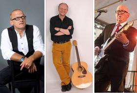 Stelzner, Uhde, Köster und der Blues spielen, singen und lesen