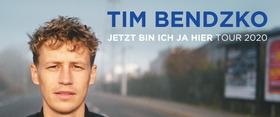 Bild: Tim Bendzko - JETZT BIN ICH JA HIER TOUR 2020