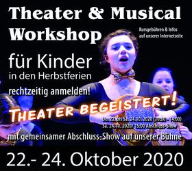 Bild: Theater & Musical Workshop für Kinder - ab 8 Jahren
