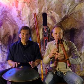 Bild: Klangwelten mit Ralph Gaukel und Andreas Deuschle