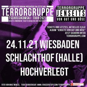 """TERRORGRUPPE - """"Tschüssikowski-Tour 2021"""" (die Abschiedstournee)"""