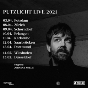 NIELS FREVERT - PUTZLICHT LIVE 2022 • Support: JOHANNA AMELIE