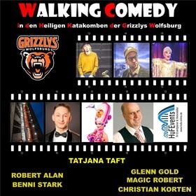 Bild: Walking Comedy - in den heiligen Katakomben der Grizzlys Wolfsburg
