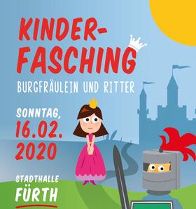 Bild: Kinderfasching - Mittelalter - Burgfräulein und Ritter
