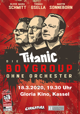 Bild: Titanic Boygroup - Lesereihe Literatura