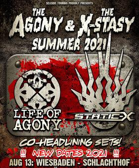 Bild: LIFE OF AGONY / STATIC-X - THE AGONY & THE X-STASY SUMMER 2021