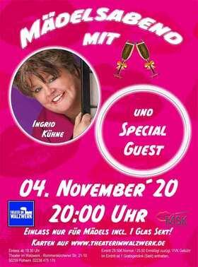 Bild: Mädelsabend mit Ingrid Kühne & Thekentratsch - Einlass nur für Frauen!