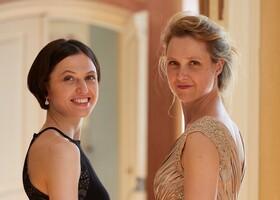 Bild: Bad Saarower Kammermusik mit Barbara Kastelewicz (Violine) und Alina Pronina (Klavier) - Magyar Ábránd - Ungarische Fantasien