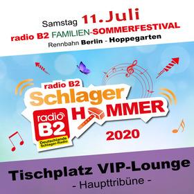 Bild: Kat. 8 - radio B2 SchlagerHammer - VIP-Lounge (Sitzplatz) 229,00€ + VVK. Geb.