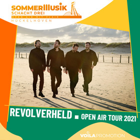 Bild: REVOLVERHELD - Open Air Tour 2021