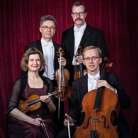 Bild: Morgenstern Streicher-Quartett im Schloss Hohendorf - technisch perfekt und emotional beeindruckend