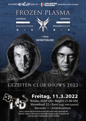 Frozen Plasma - Gezeiten Club Shows 2021