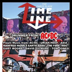 Bild: THE CHRIS SLADE TIMELINE - Chris Slade - Drummer from AC/DC